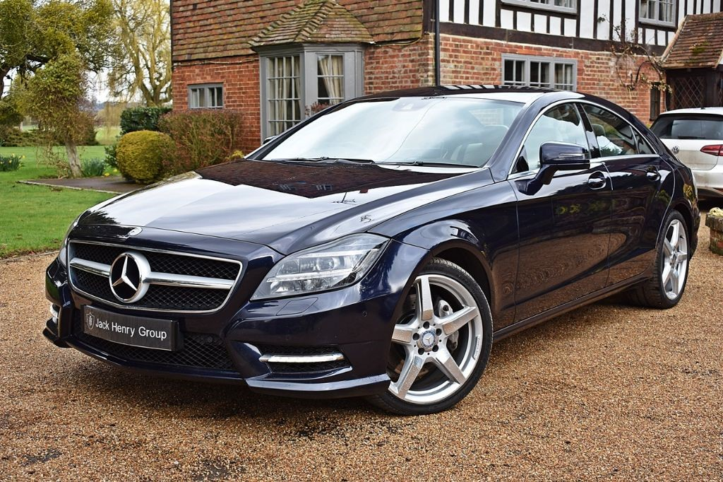 used Mercedes CLS CLS350 CDI BLUEEFFICIENCY AMG SPORT in in-kent