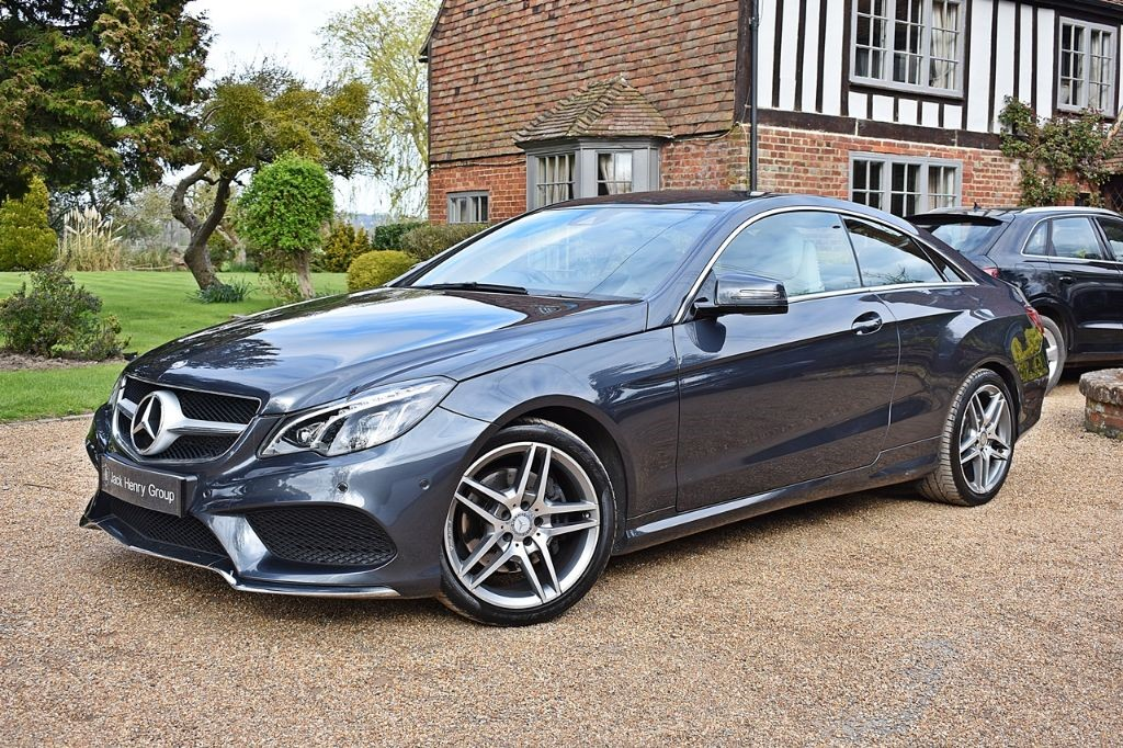 used Mercedes E220 BLUETEC AMG LINE in in-kent