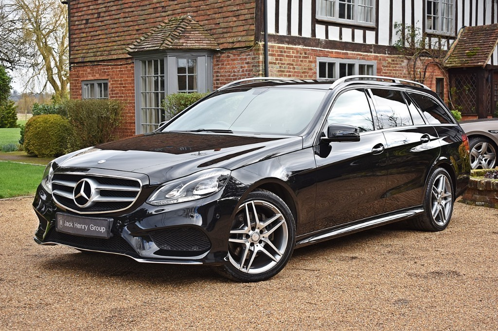 used Mercedes E220 CDI AMG SPORT in in-kent
