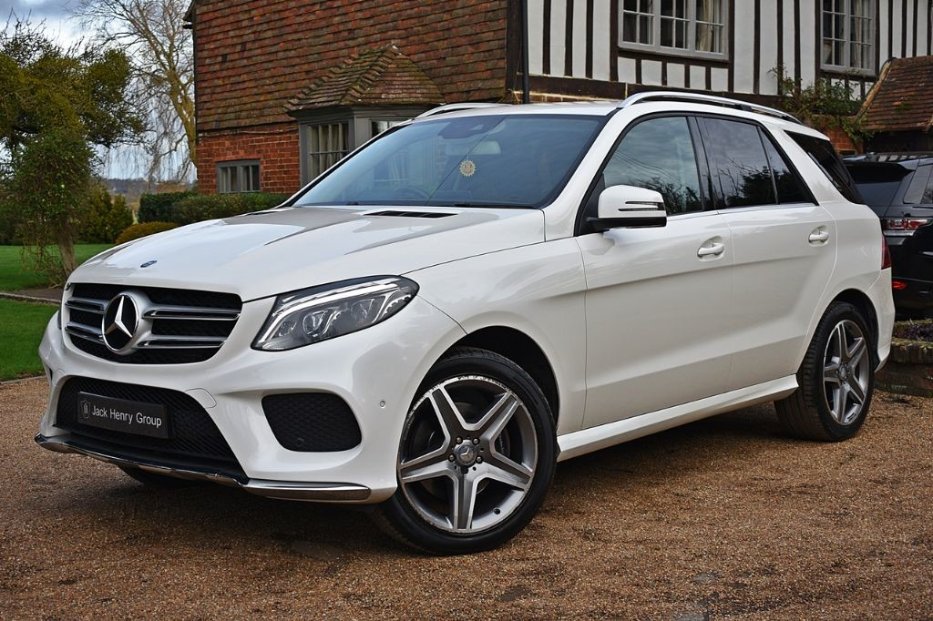 used Mercedes GLE350 GLE 350 D 4MATIC AMG LINE in in-kent