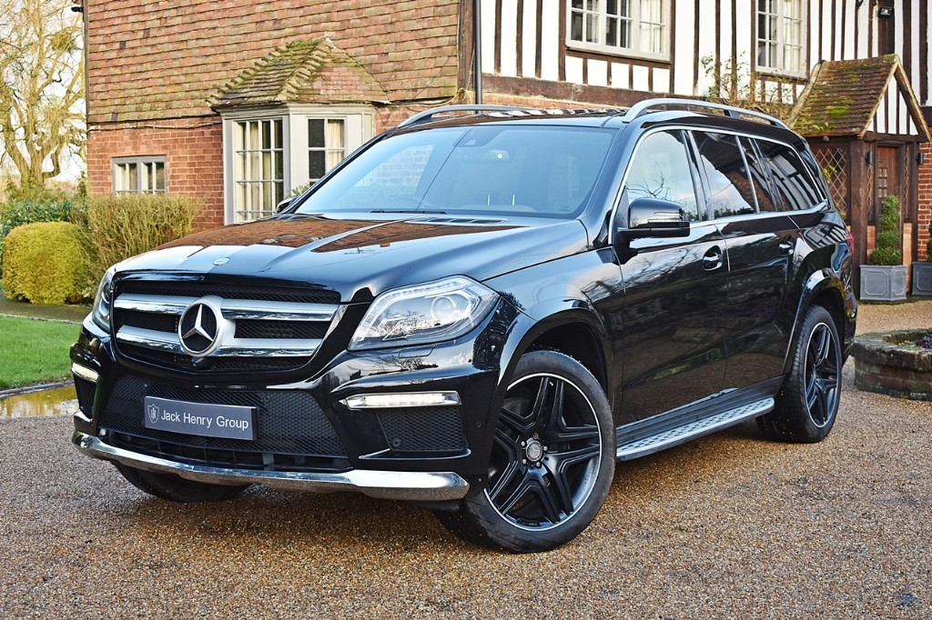 used Mercedes GL350 BLUETEC AMG SPORT in in-kent