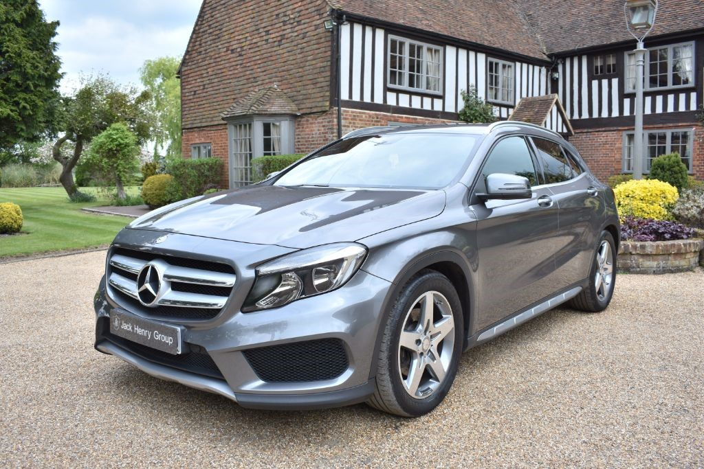 used Mercedes GLA220 GLA Class CDI AMG Line 7G-DCT 4-MATIC 5dr in in-kent