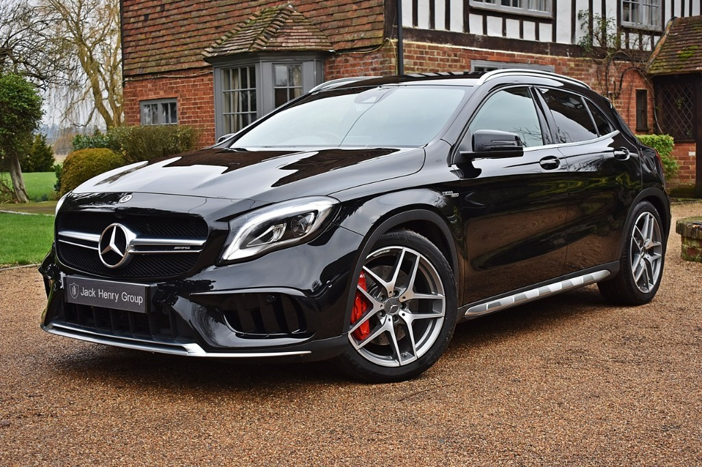 used Mercedes GLA45 AMG AMG GLA 45 4MATIC in in-kent