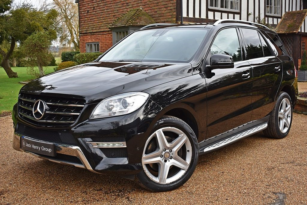 used Mercedes ML350 BLUETEC AMG SPORT in in-kent