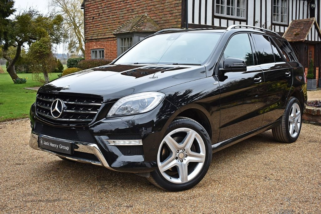 used Mercedes ML350 BLUETEC AMG LINE in in-kent