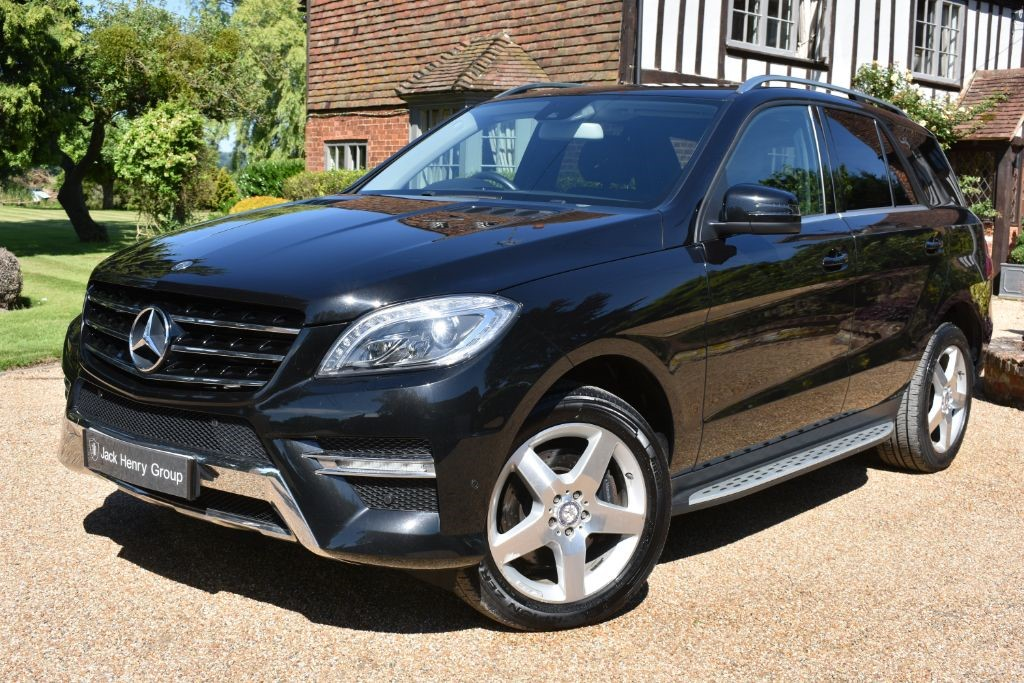 used Mercedes ML350 BLUETEC SPORT in in-kent