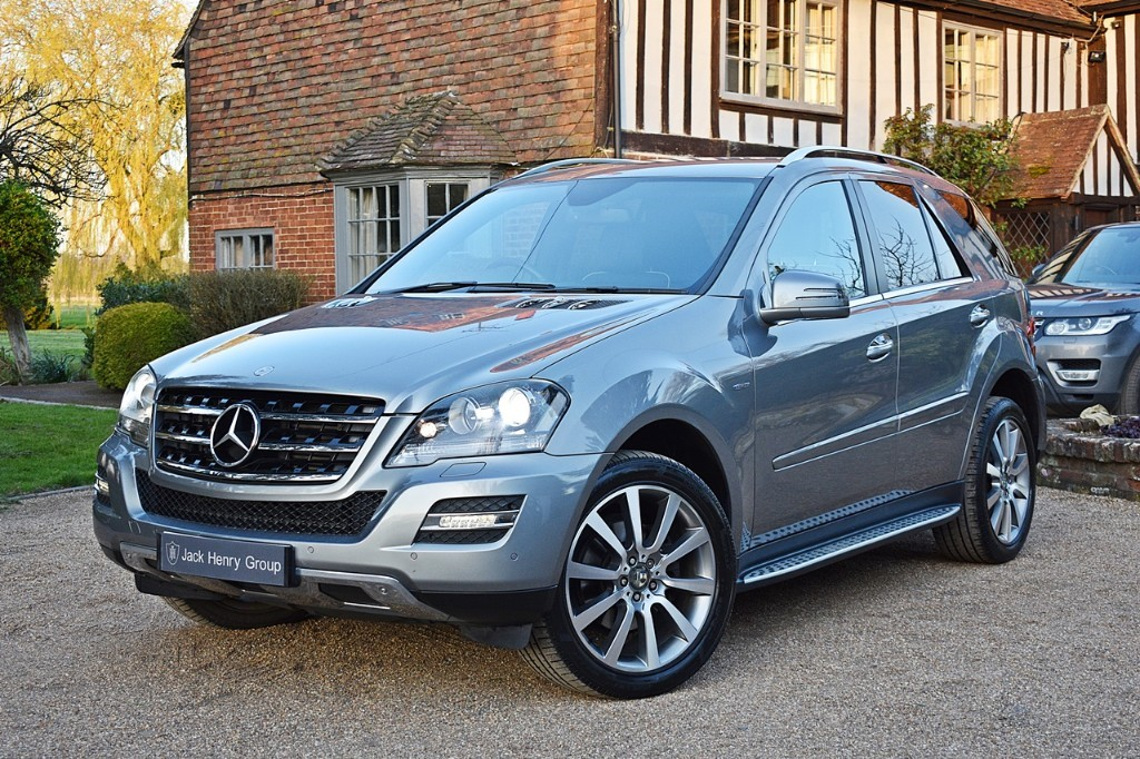 used Mercedes ML350 CDI BLUEEFFICIENCY GRAND EDITION in in-kent