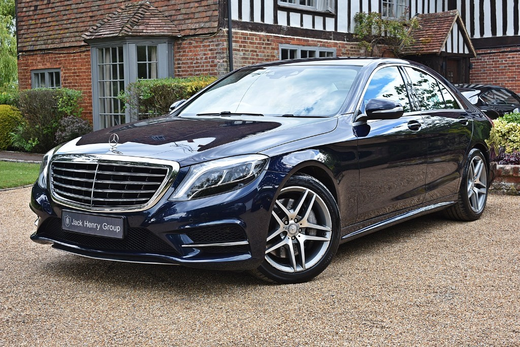used Mercedes S350 BLUETEC AMG LINE in in-kent