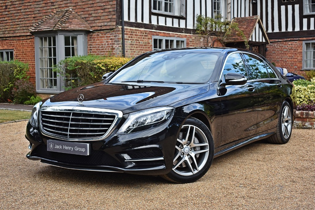 used Mercedes S400 HYBRID L AMG LINE EXECUTIVE in in-kent