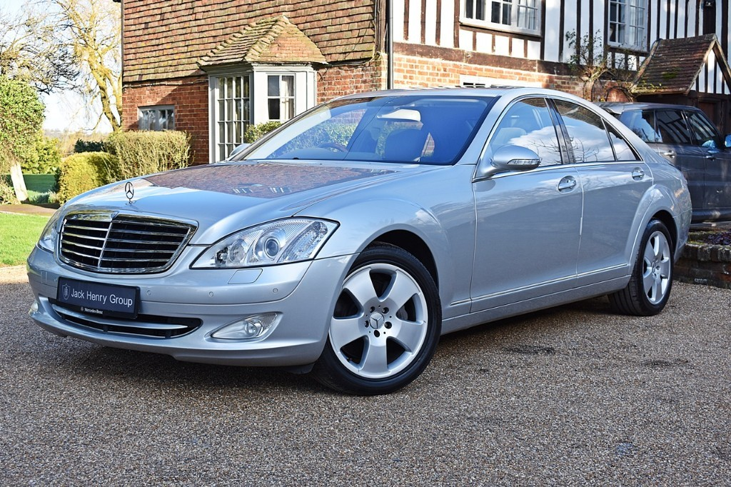 used Mercedes S500  in in-kent