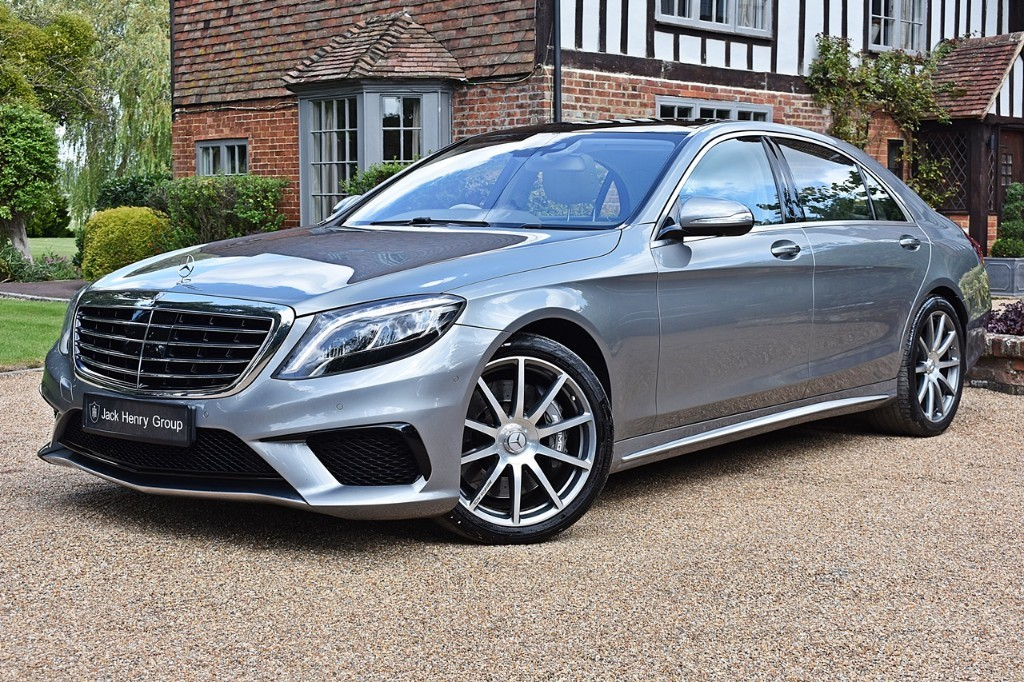 used Mercedes S63 AMG L in in-kent