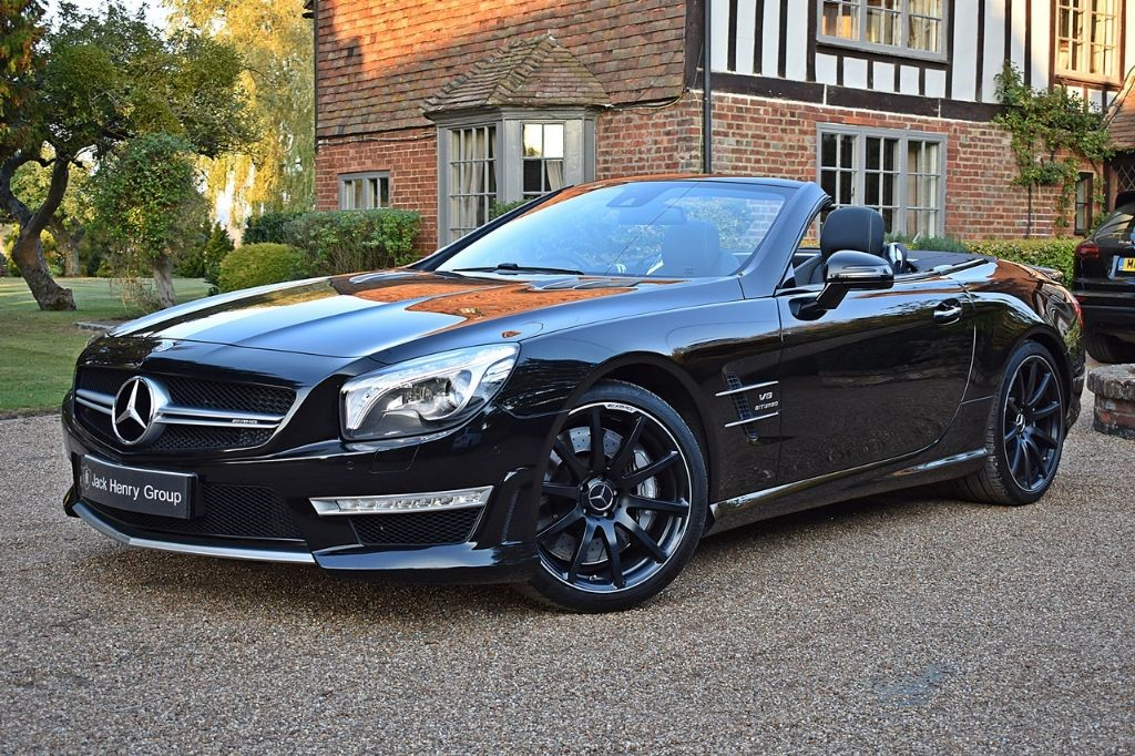 used Mercedes SL AMG SL 63 in in-kent