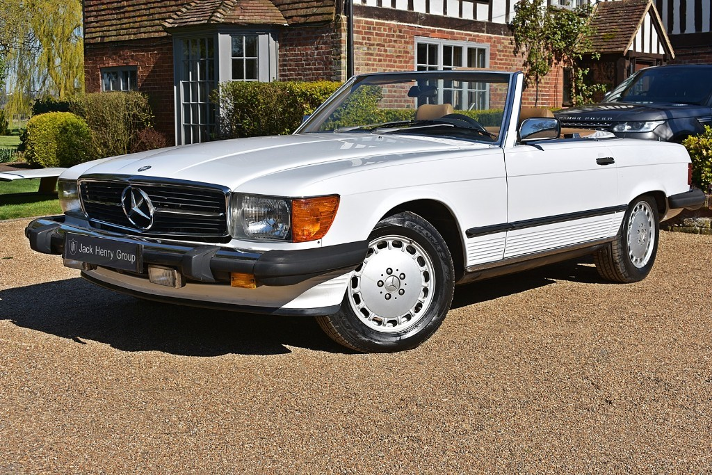 used Mercedes 560SL  in in-kent