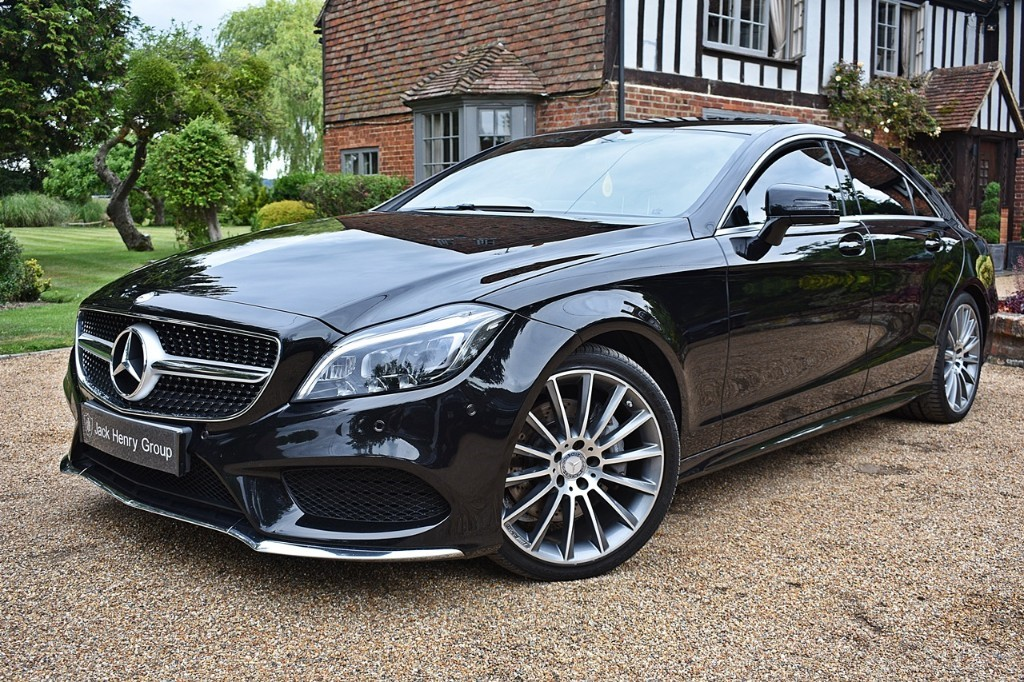 used Mercedes  CLS350 D AMG LINE PREMIUM in in-kent