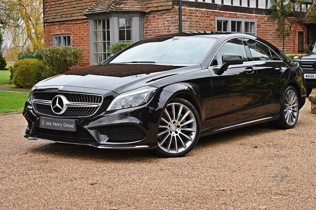 used Mercedes CLS350 AMG LINE PREMIUM in in-kent