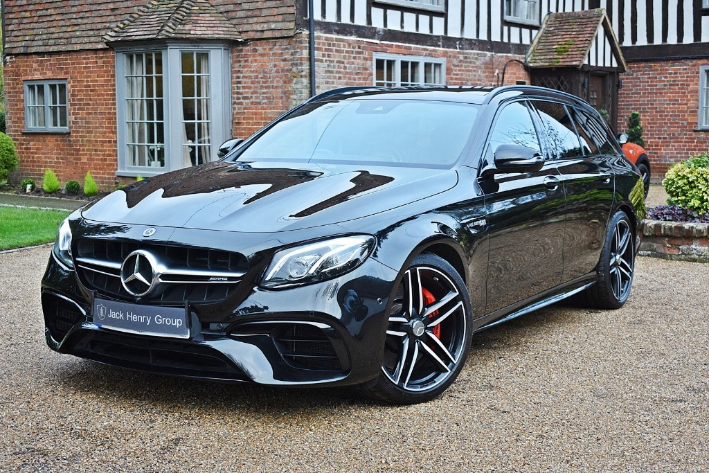 used Mercedes E63 AMG S 4MATIC PREMIUM in in-kent