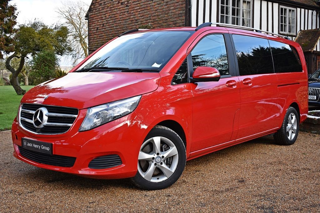 used Mercedes V220 BLUETEC SE EXTRA LONG in in-kent