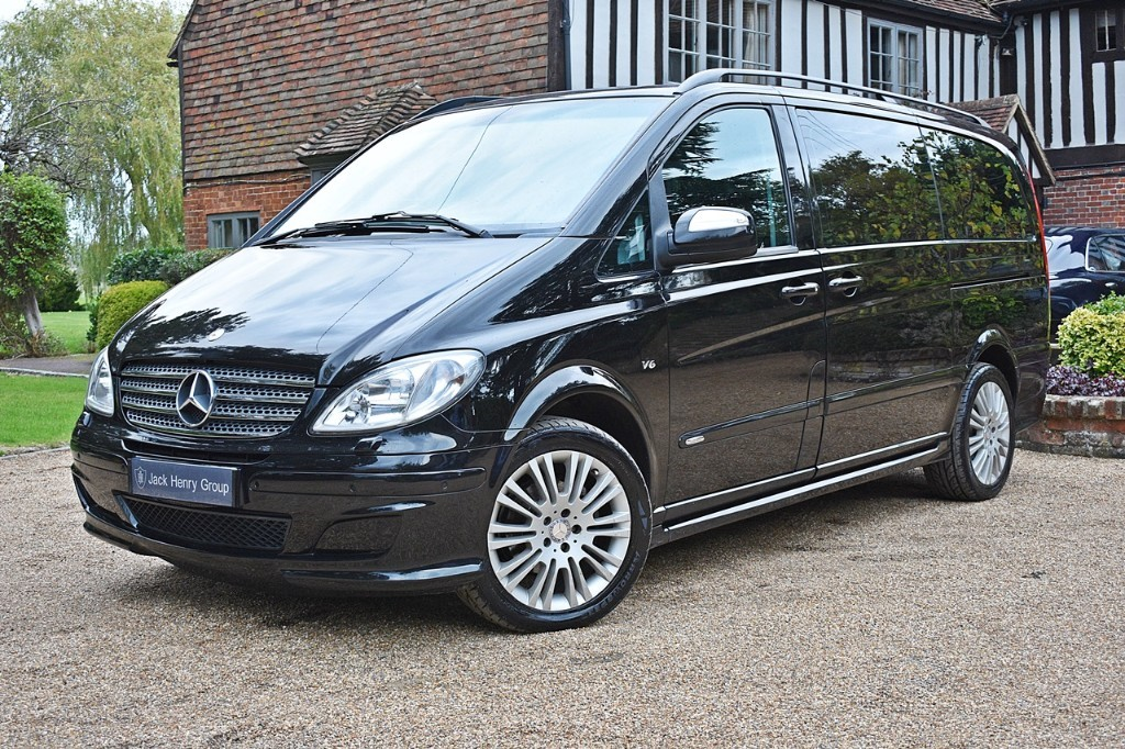 used Mercedes Viano CDI LONG AMBIENTE in in-kent