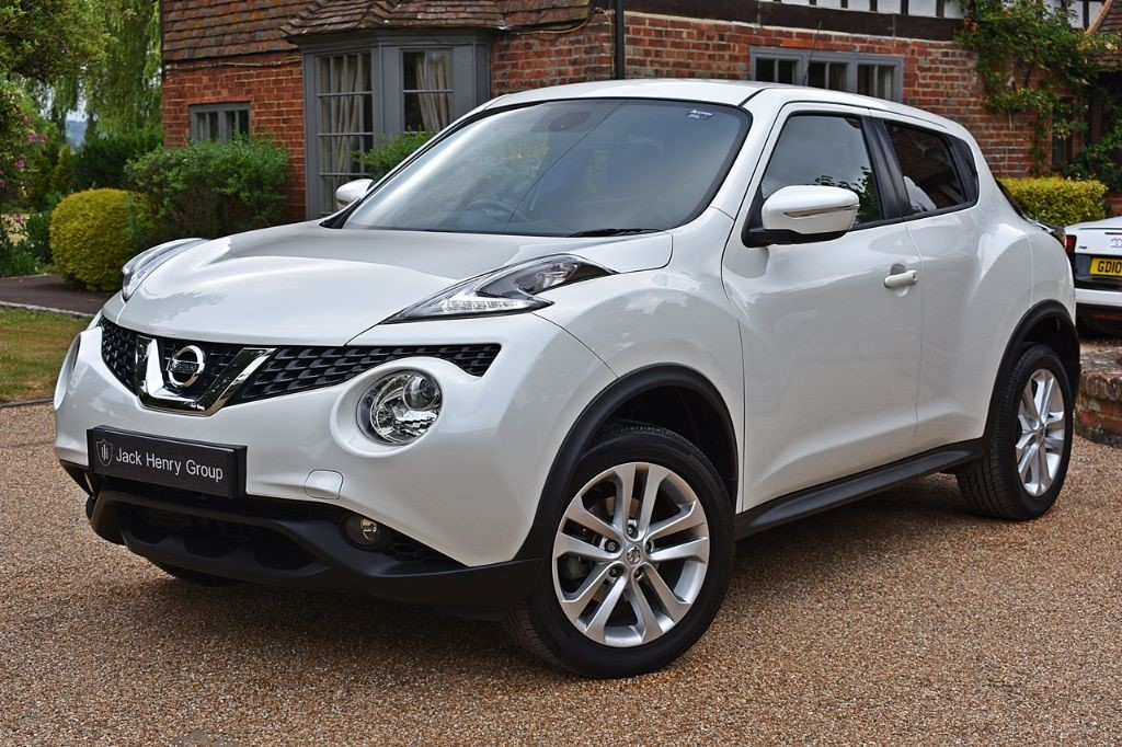 used Nissan Juke N-CONNECTA XTRONIC in in-kent