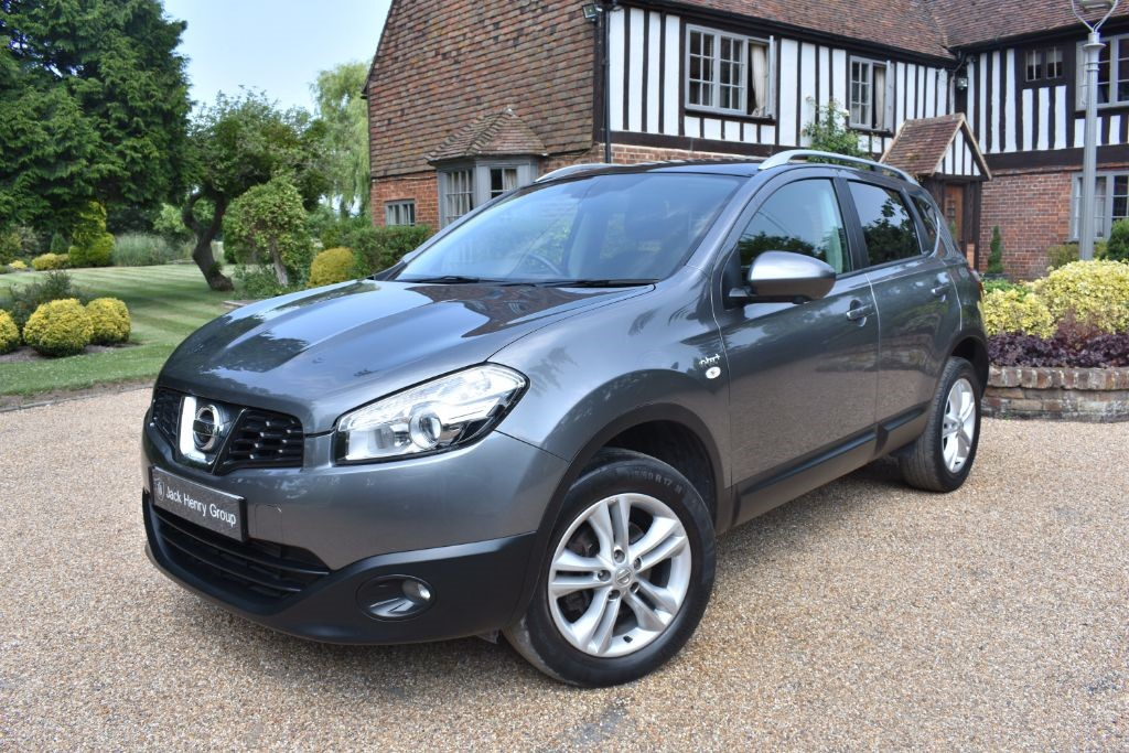 used Nissan Qashqai N-TEC PLUS DCI in in-kent