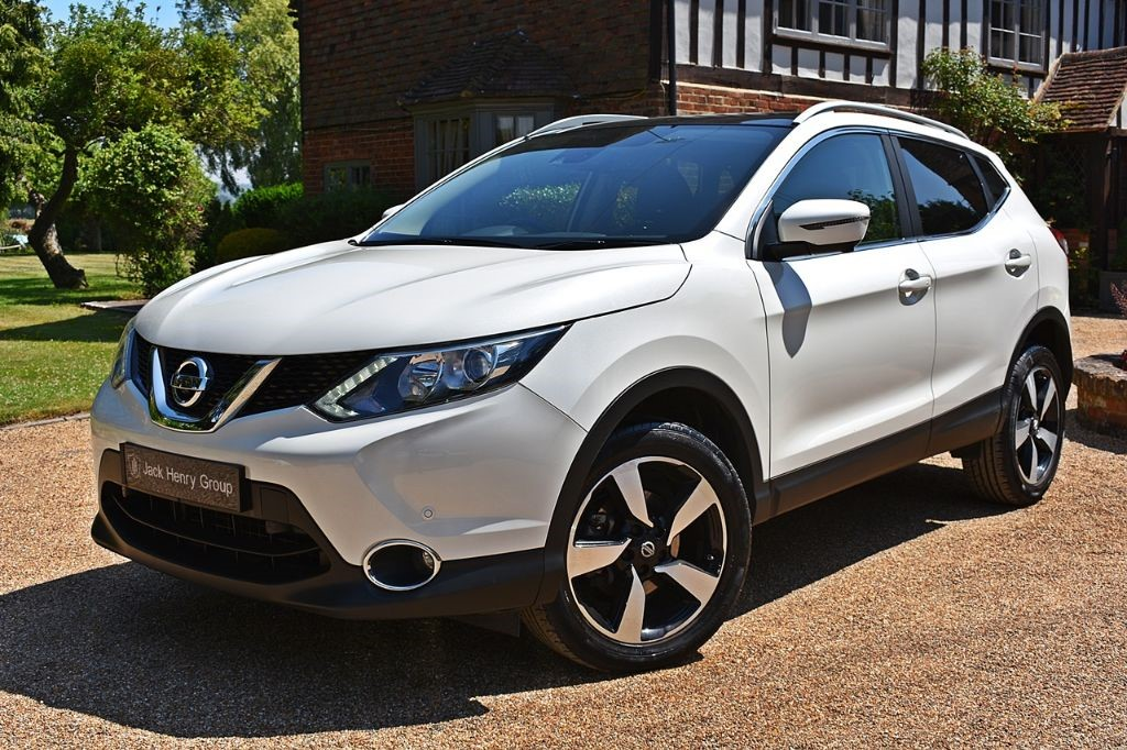used Nissan Qashqai N-CONNECTA DCI in in-kent