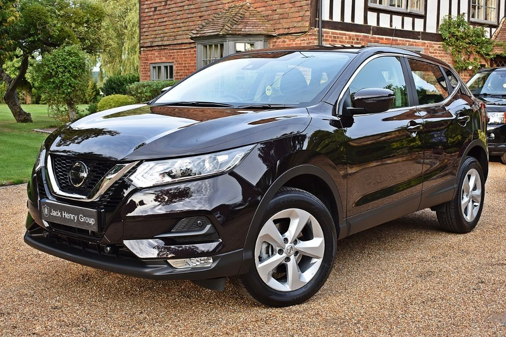 used Nissan Qashqai ACENTA DIG-T in in-kent
