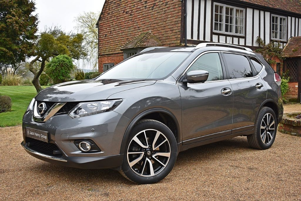 used Nissan X-Trail DIG-T N-TEC in in-kent