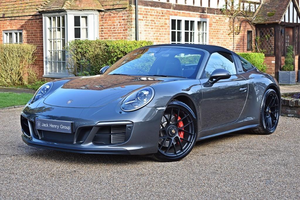 used Porsche 911 TARGA 4 GTS PDK in in-kent