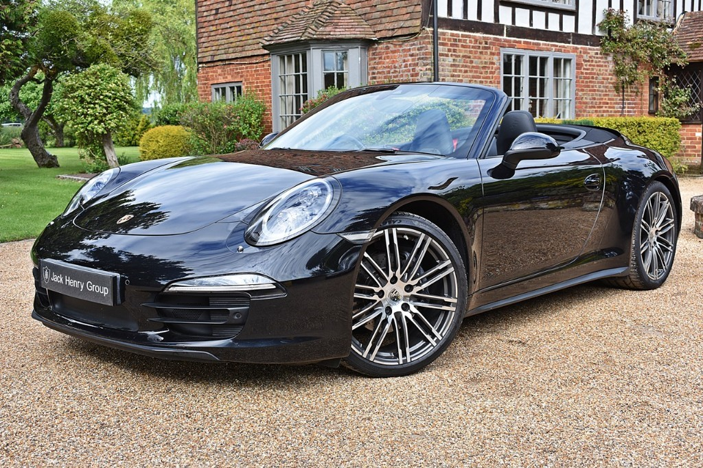 used Porsche 911 CARRERA 4 BLACK EDITION PDK in in-kent