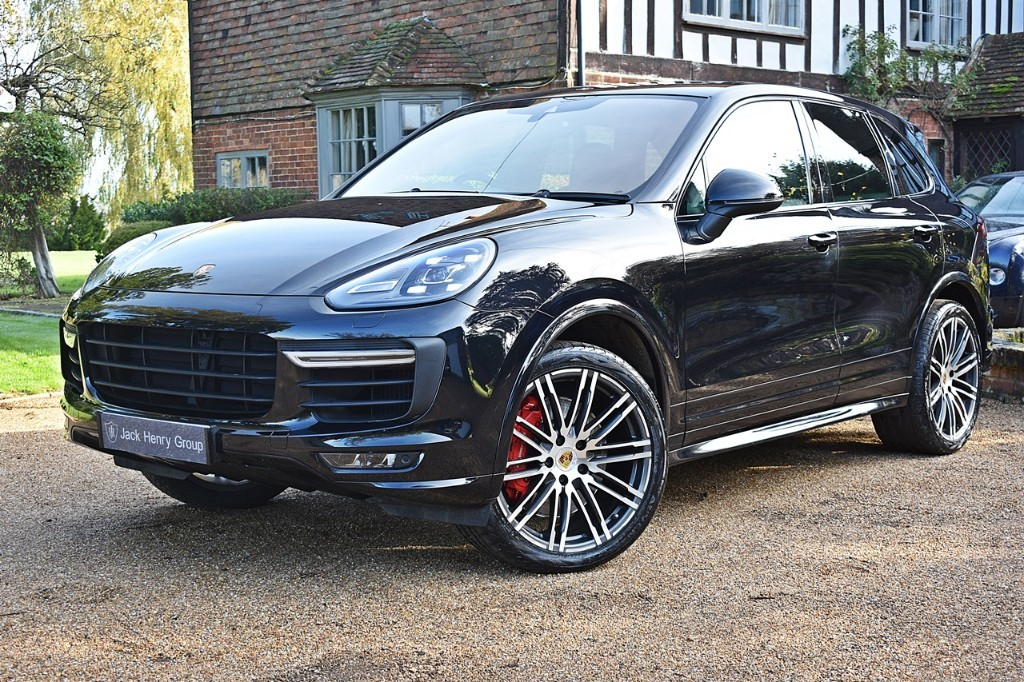 used Porsche Cayenne V8 TURBO TIPTRONIC S in in-kent
