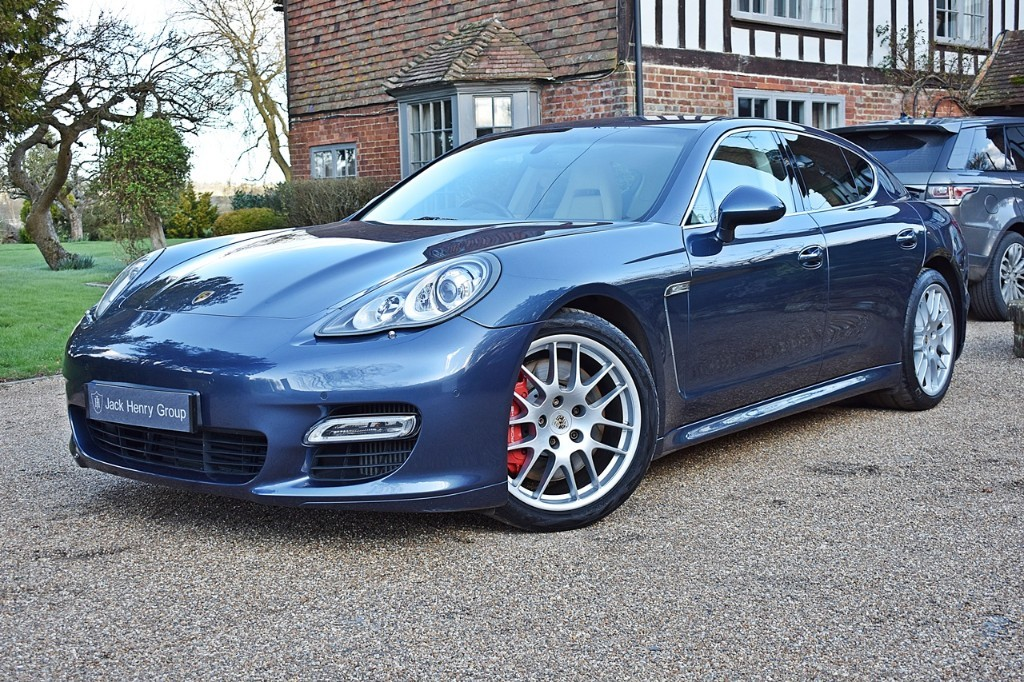 used Porsche Panamera TURBO PDK in in-kent