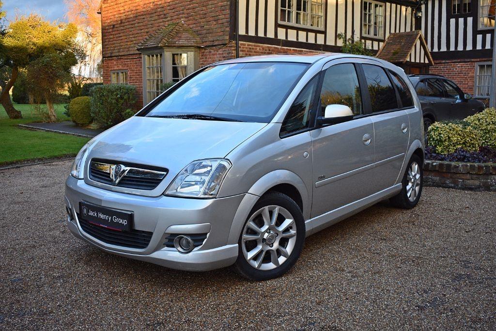 used Vauxhall Meriva DESIGN 16V in in-kent