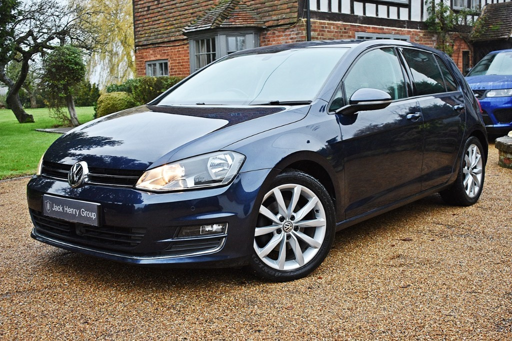 used VW Golf GT TDI BLUEMOTION TECHNOLOGY DSG in in-kent