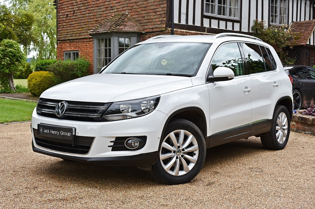 used VW Tiguan MATCH TDI BLUEMOTION TECH 4MOTION DSG in in-kent