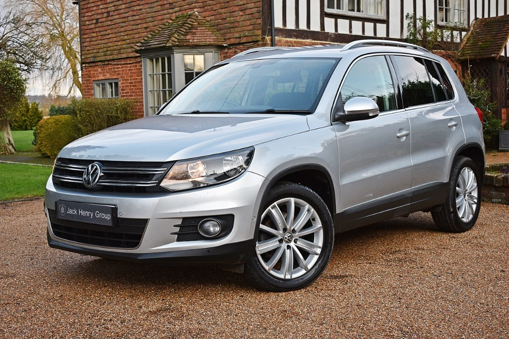 used VW Tiguan MATCH EDITION TDI BMT in in-kent
