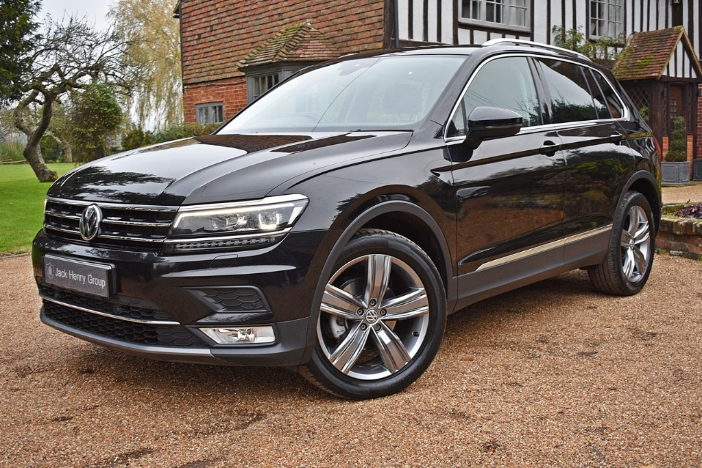 used VW Tiguan SEL TDI BLUEMOTION TECHNOLOGY DSG in in-kent