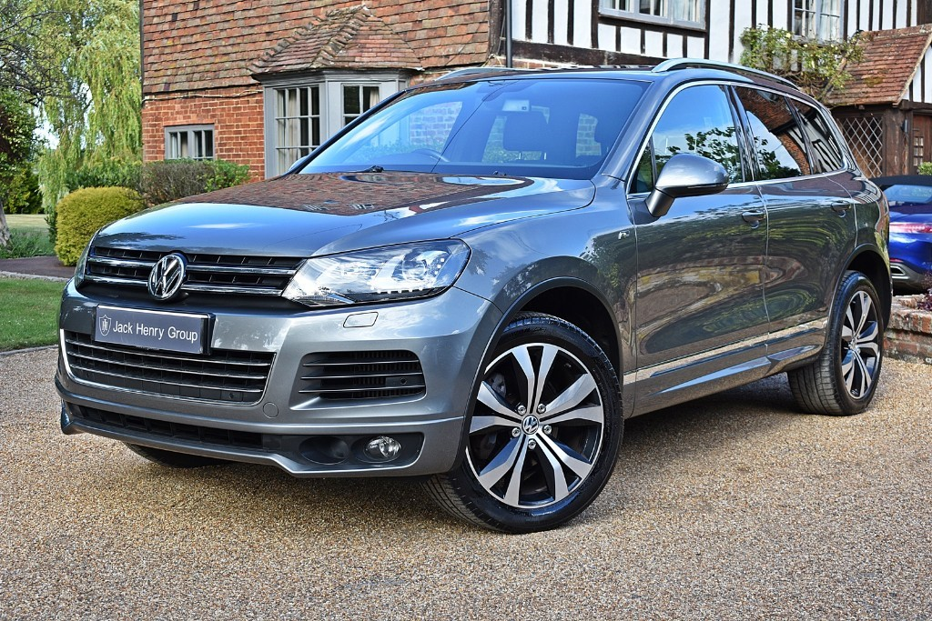 used VW Touareg V6 R-LINE TDI BLUEMOTION TECHNOLOGY in in-kent