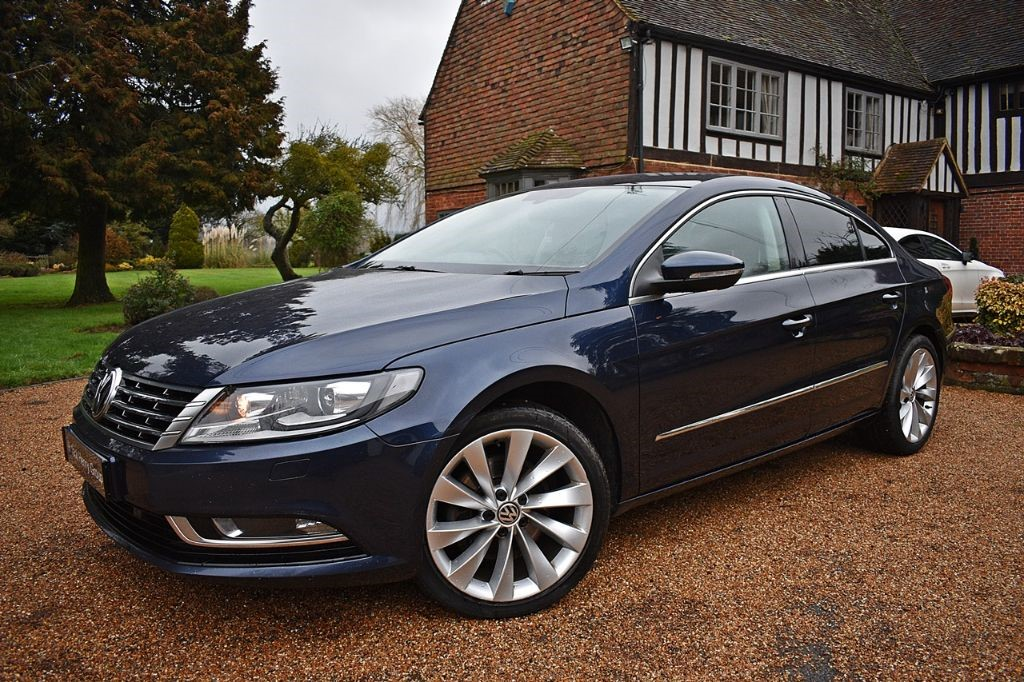 used VW CC GT TDI BLUEMOTION TECHNOLOGY DSG in in-kent