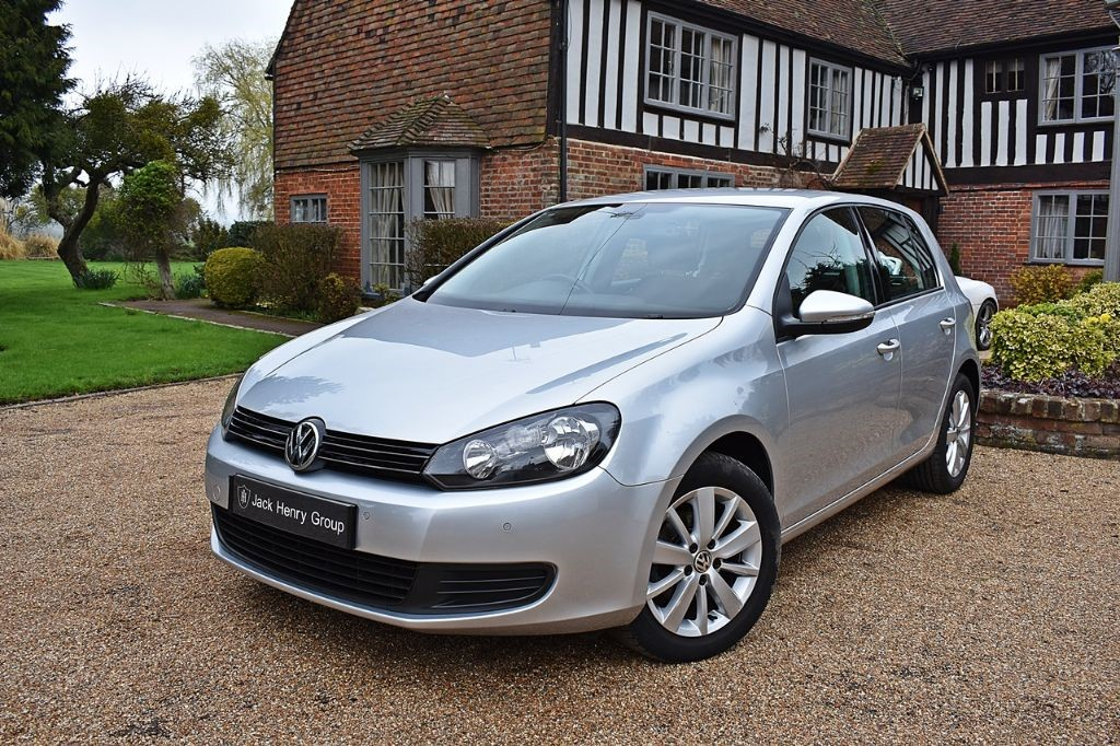 used VW Golf MATCH TDI BLUEMOTION TECHNOLOGY in in-kent