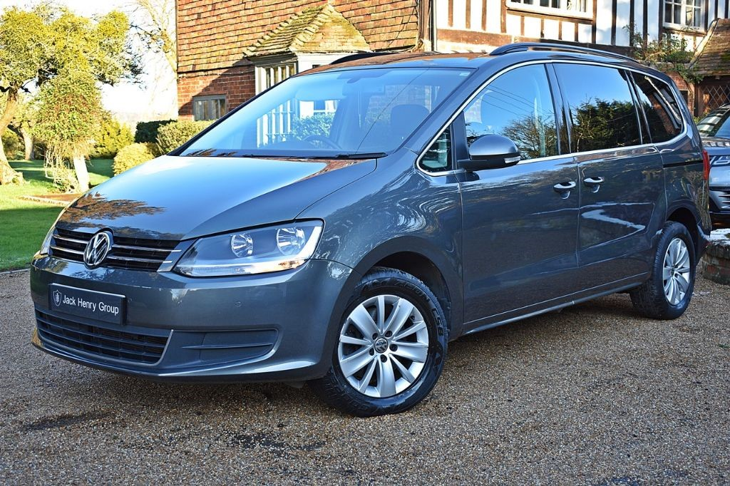 used VW Sharan SE TDI DSG in in-kent
