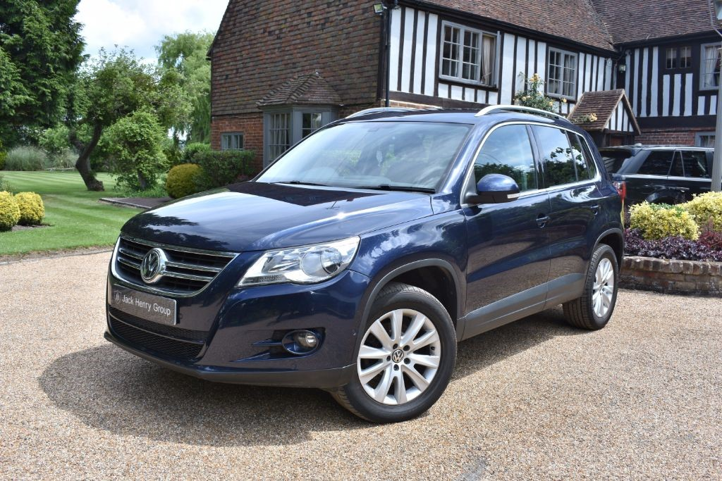 used VW Tiguan TDI Match DSG 4Motion 5dr in in-kent