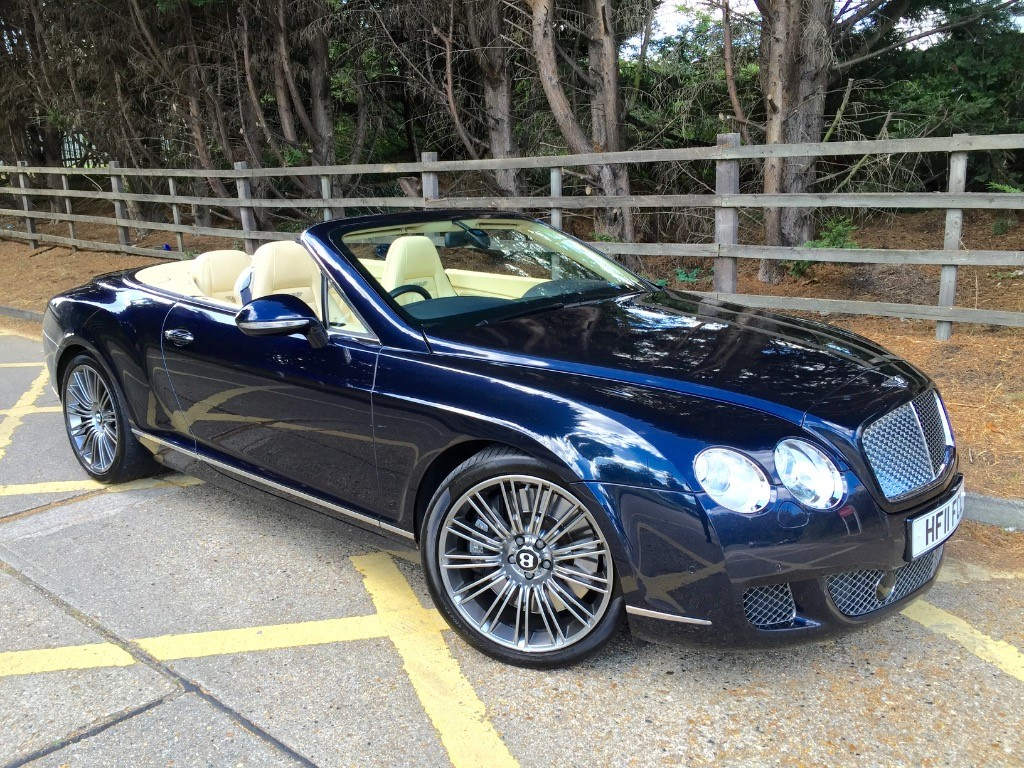 used Bentley Continental GTC SPEED in essex