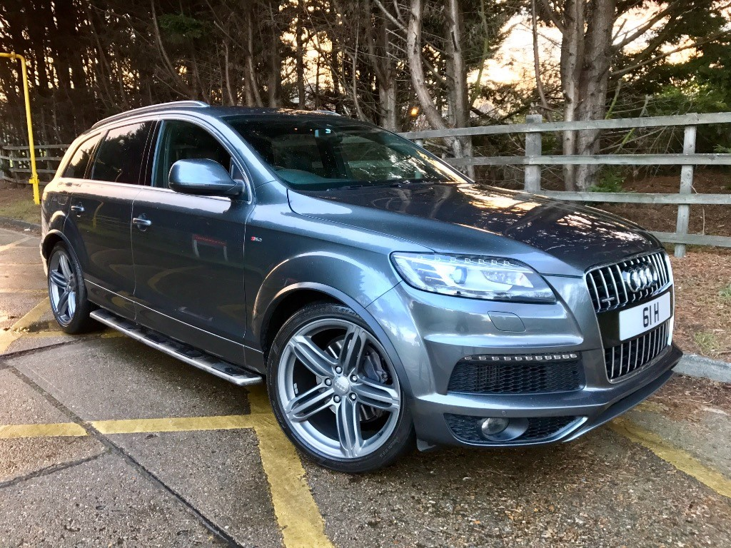 used Audi Q7 TDI S LINE PLUS QUATTRO in essex