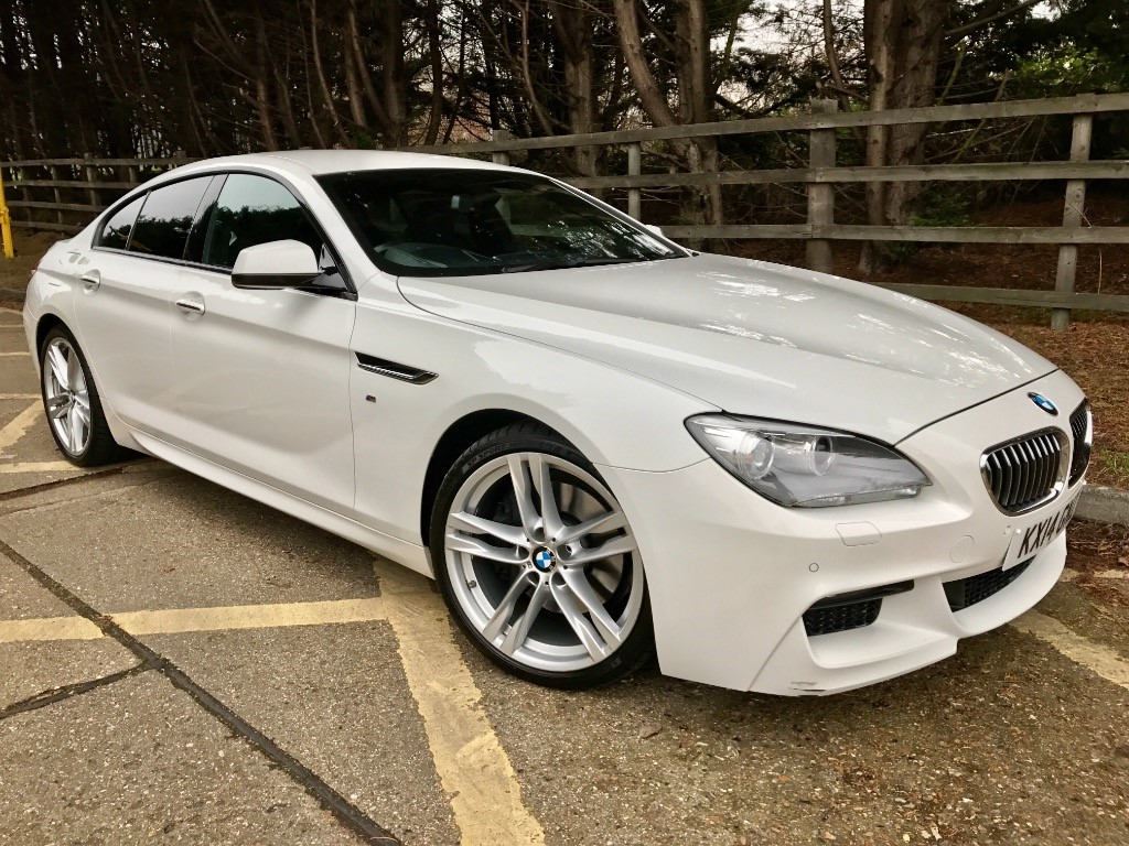 used BMW 640d M Sport Grand Coupe in essex