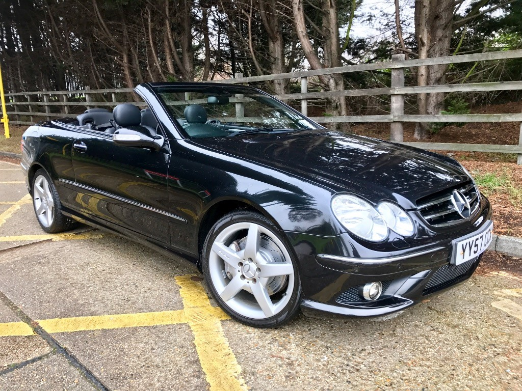 used Mercedes CLK200 KOMPRESSOR SPORT in essex