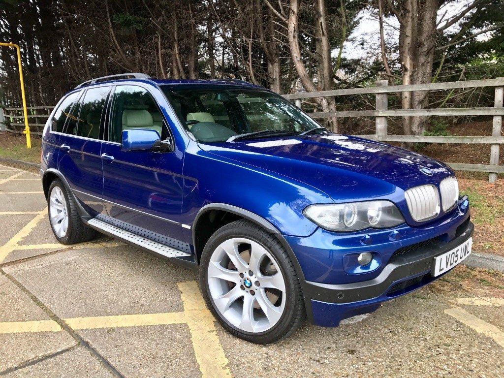 used BMW X5 IS in essex
