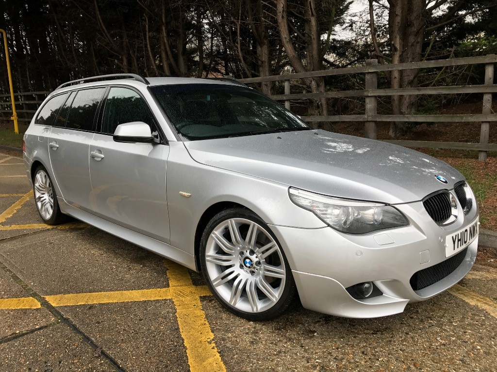 used BMW 530d M SPORT BUSINESS EDITION TOURING in essex