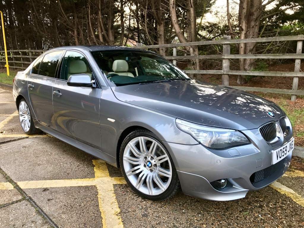 used BMW 525d M SPORT BUSINESS EDITION in essex