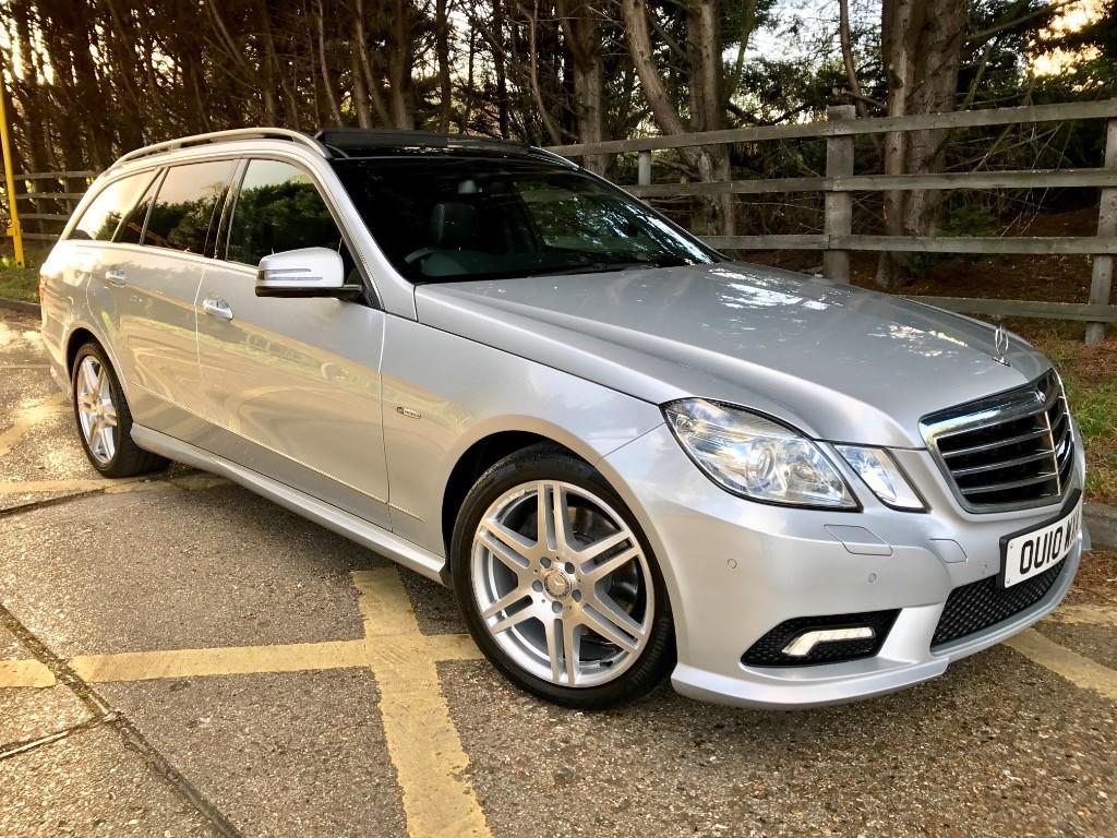 used Mercedes E350 CDI BLUEEFFICIENCY SPORT in essex