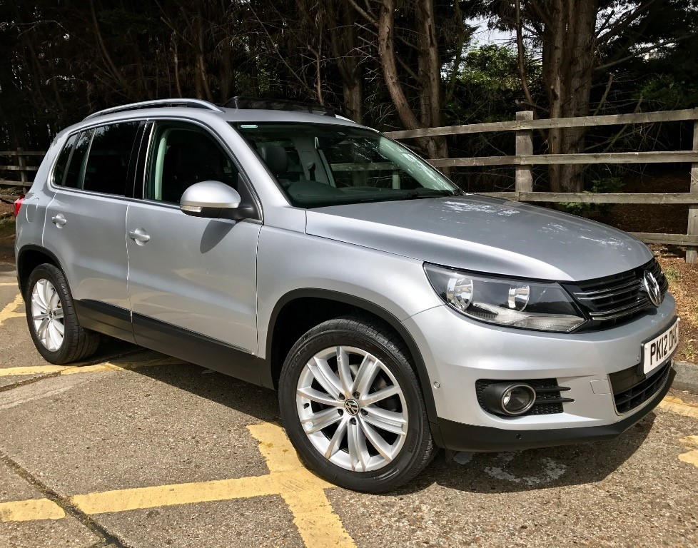 used VW Tiguan SPORT TDI BLUEMOTION TECHNOLOGY 4MOTION in essex